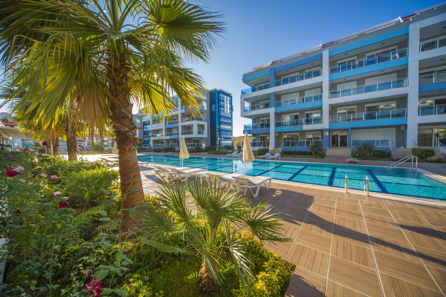 LUXURY RESIDENCE WITH WONDERFUL APARTMENTS IN ALANYA