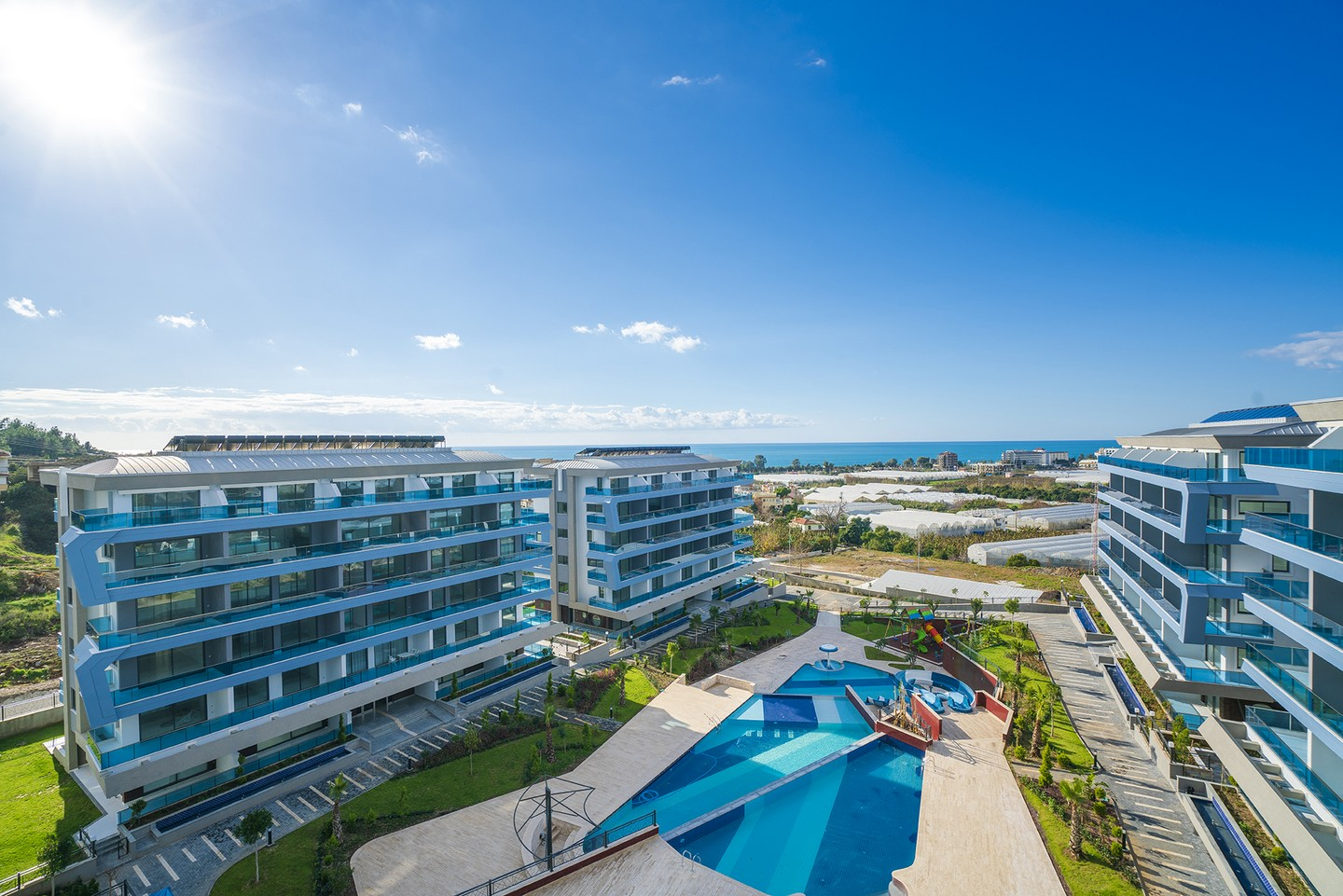 SUPER LUXURY APARTMENTS ON A BEAUTIFUL LOCATION IN ALANYA